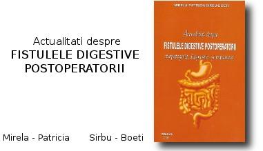 Actualitati despre fistulele digestive postoperatorii